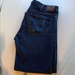 Armani Classic wash straight leg jean